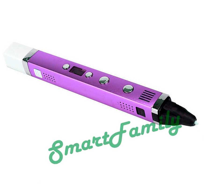 3D ручка MyRiwell фиолетовая