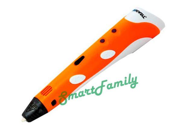 3D ручка MyRiwell RP 100A оранжевая