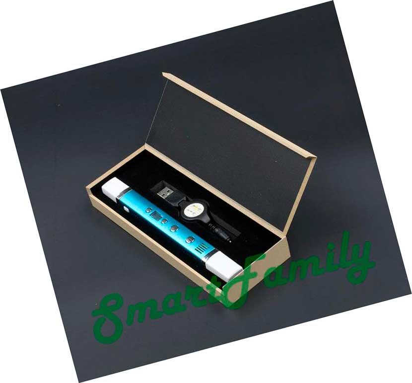 3D ручка с usb кабелем