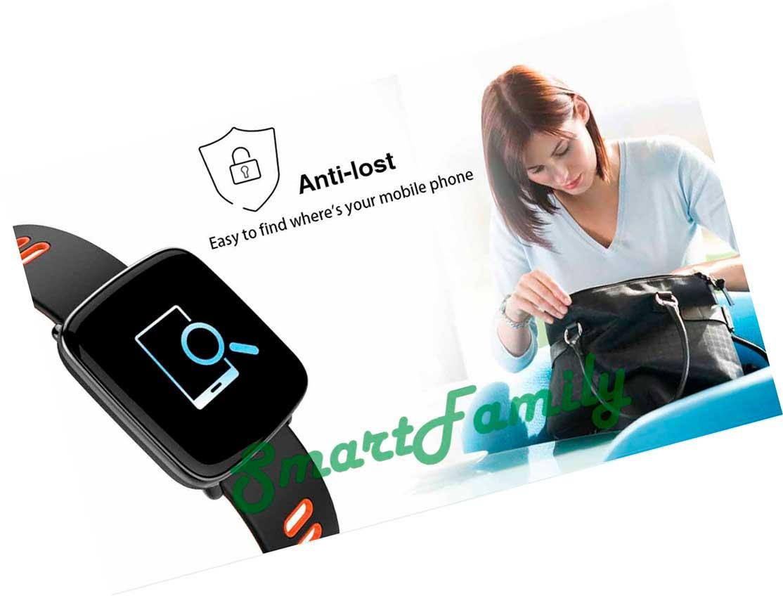 smart watch GV68 функция антипотеря