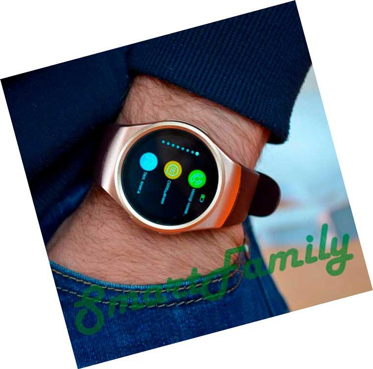 часы Kingwear KW18 на руке