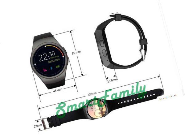 размеры часов Kingwear KW18