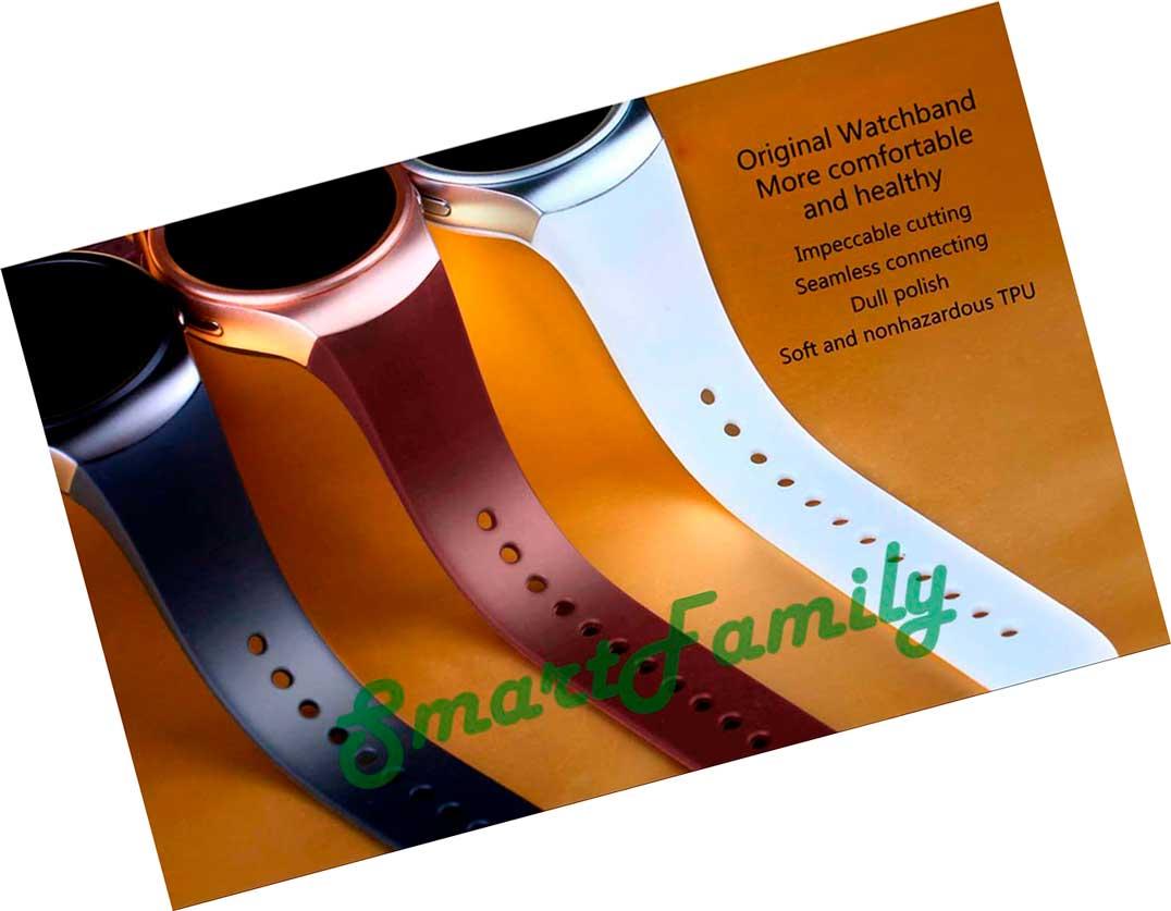 цвета ремешков часов Kingwear KW18