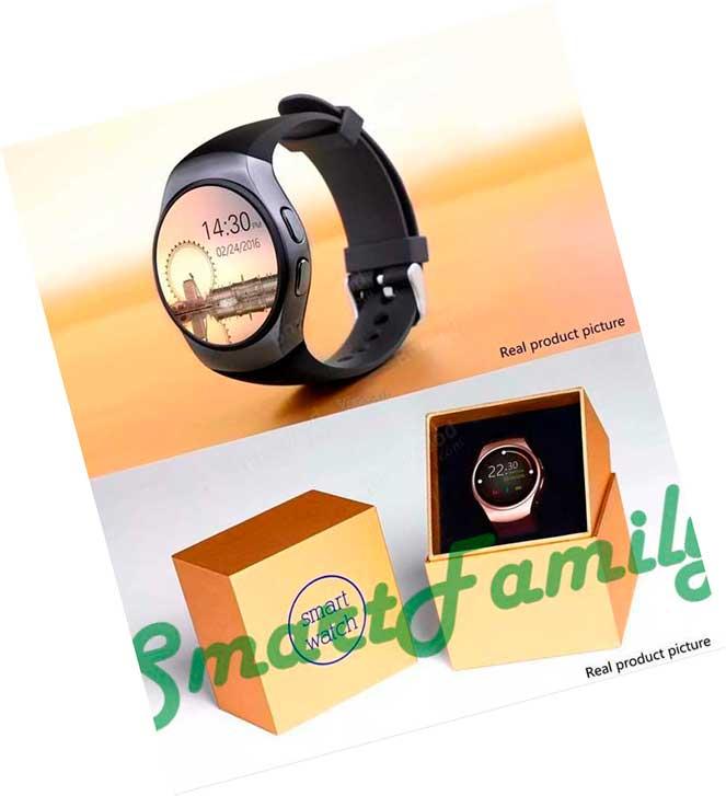 умные часы Kingwear KW18 с коробкой