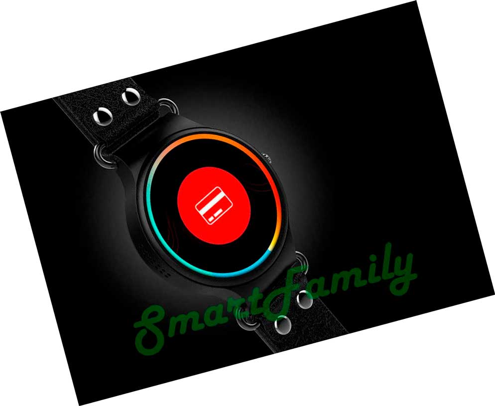 Smart watch KW98 красный дисплей