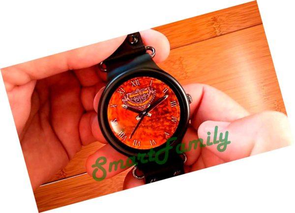 Smart watch KW98 дисплей под дерево