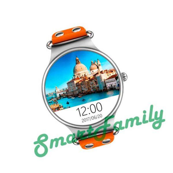 Smart watch KW98 серебряные