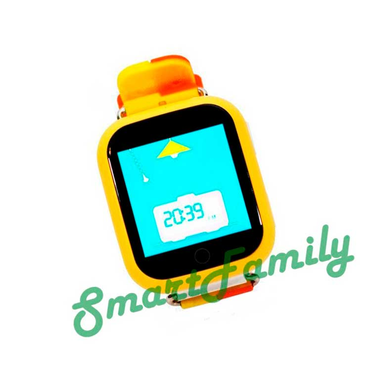 Smart baby watch Q100 желтые