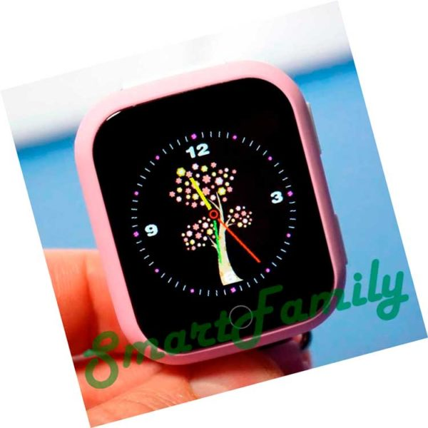 gps smart baby watch q100