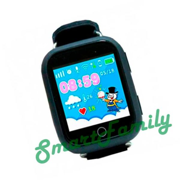 Smart baby watch GW200s черные