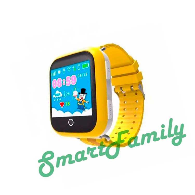 Smart baby watch GW200s желтые
