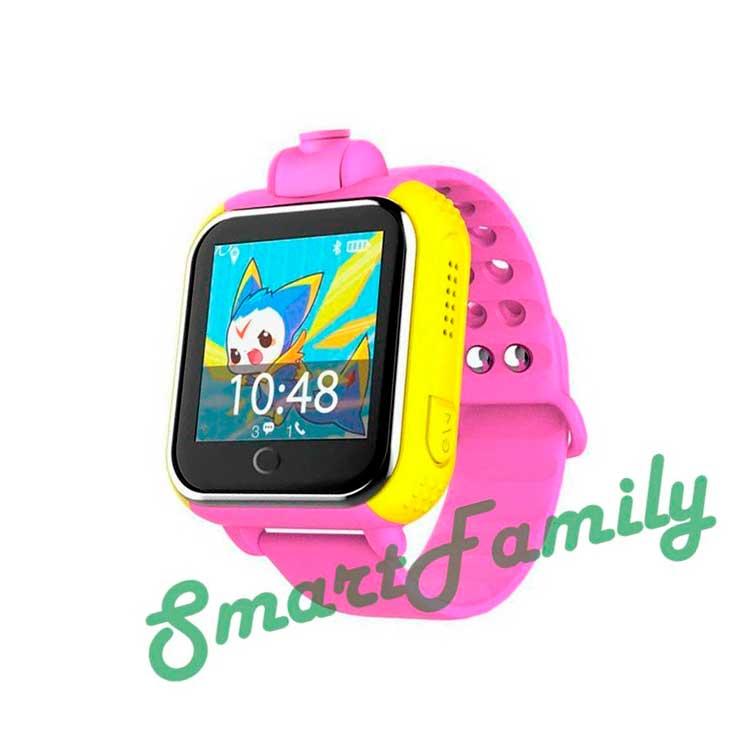 Smart baby watch Q75 розовые