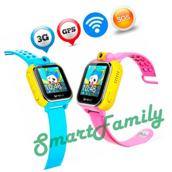 Детский телефон часы GW1000