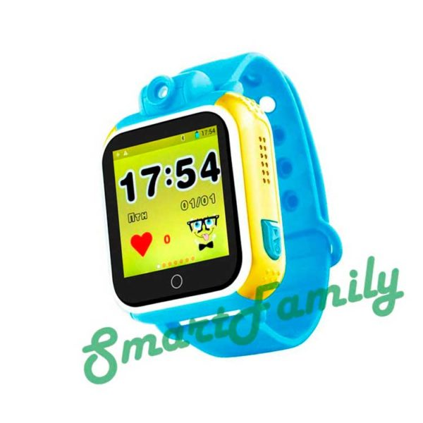 Smart baby watch GW1000 голубые
