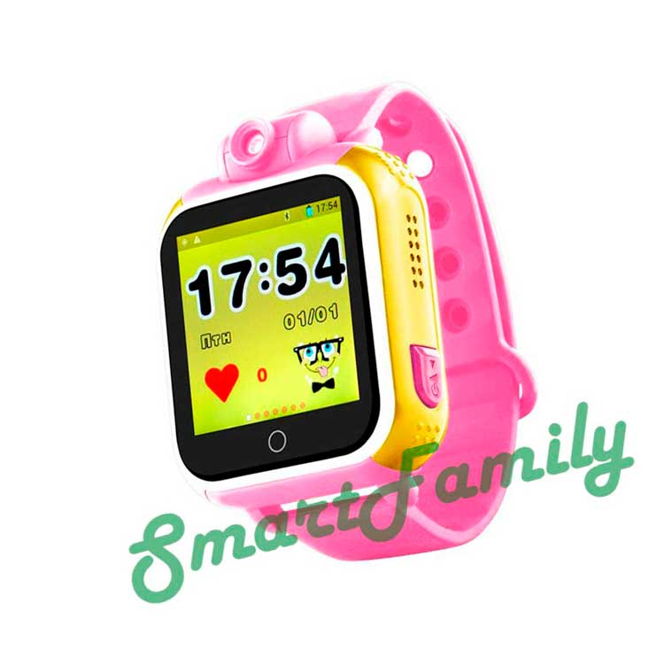 Smart baby watch GW1000 розовые