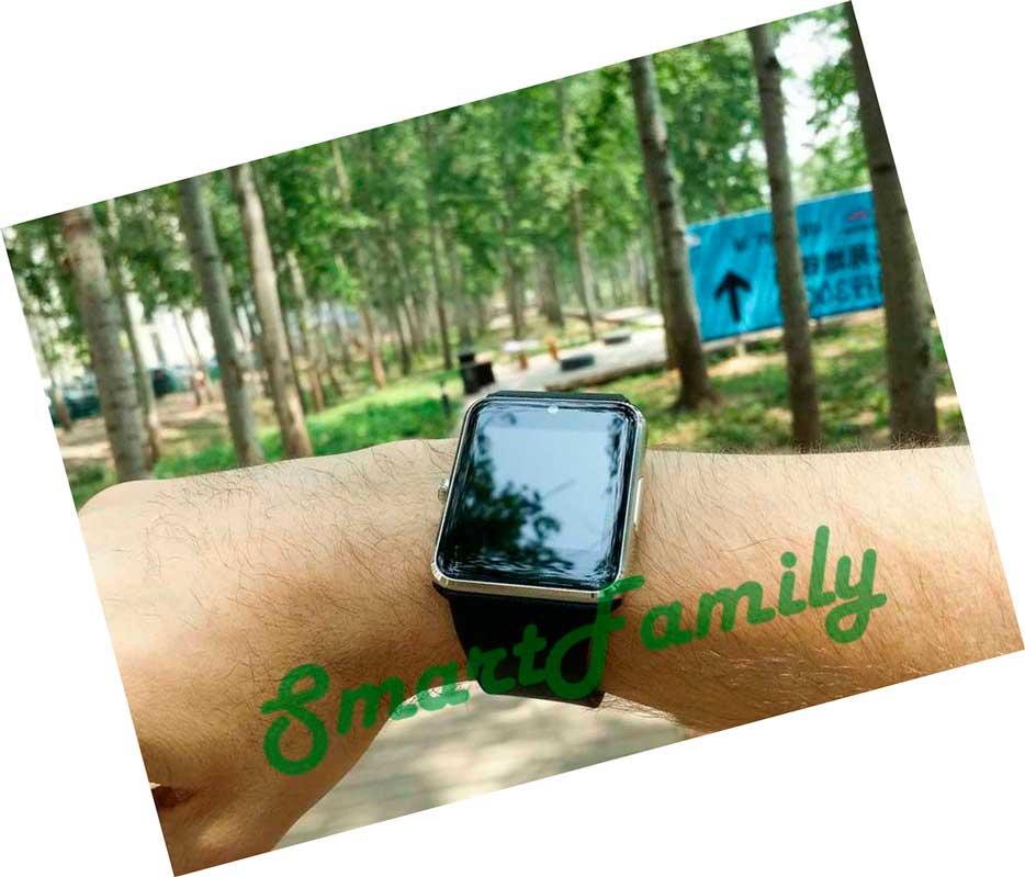 smart часы gt08 на руке