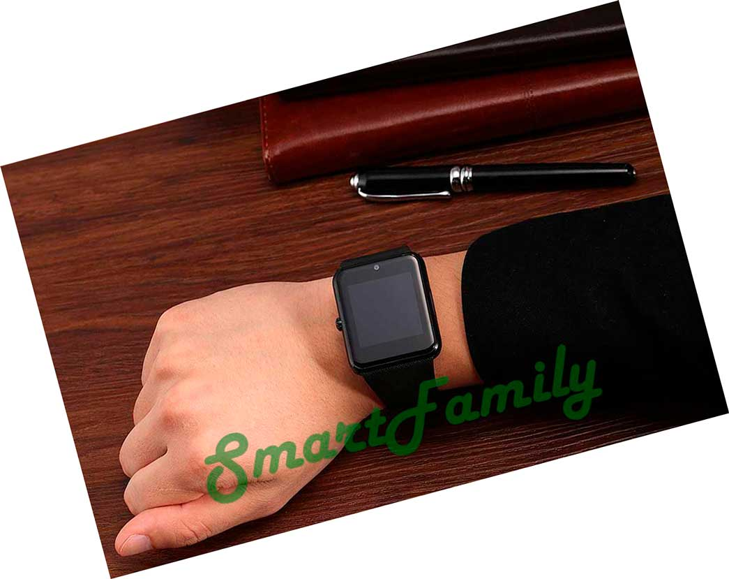 часы smart watch gt08 на руке