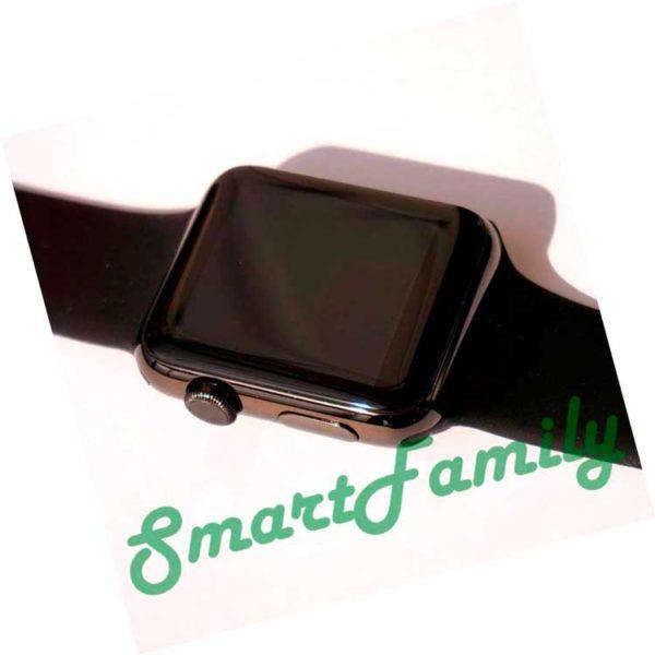Smart watch IWO 2 черные внешний вид