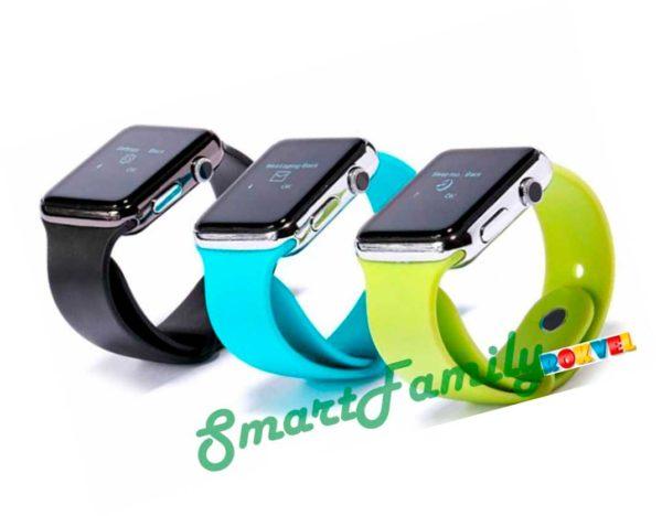 Smart watch W8 вид сбоку