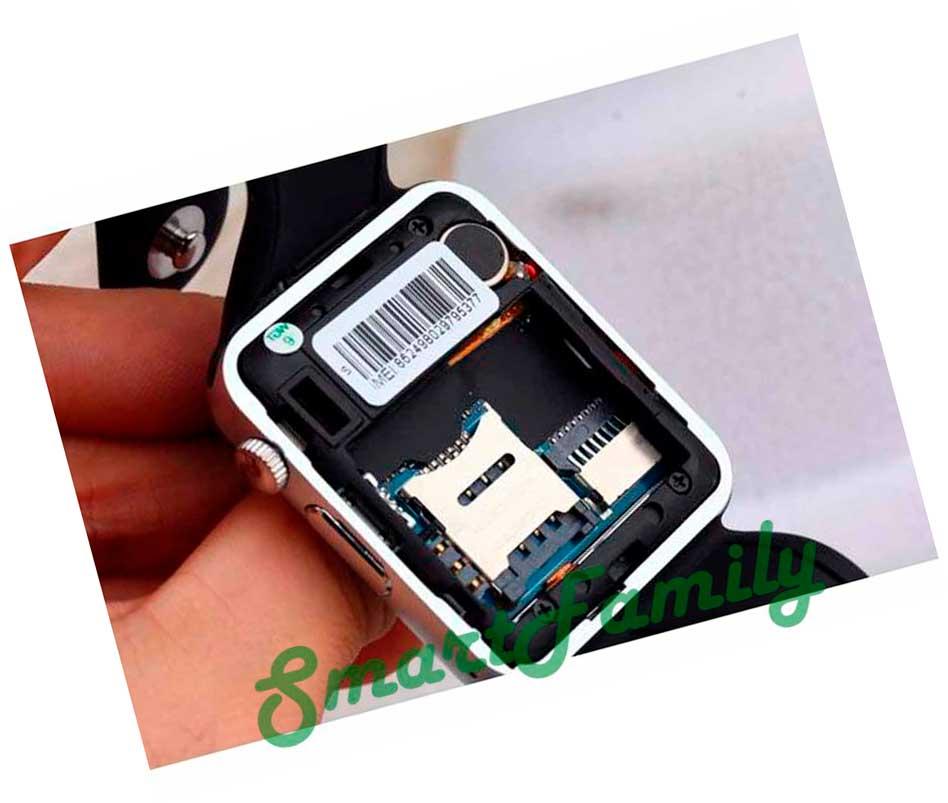 Smart watch W8 внутренняя сторона