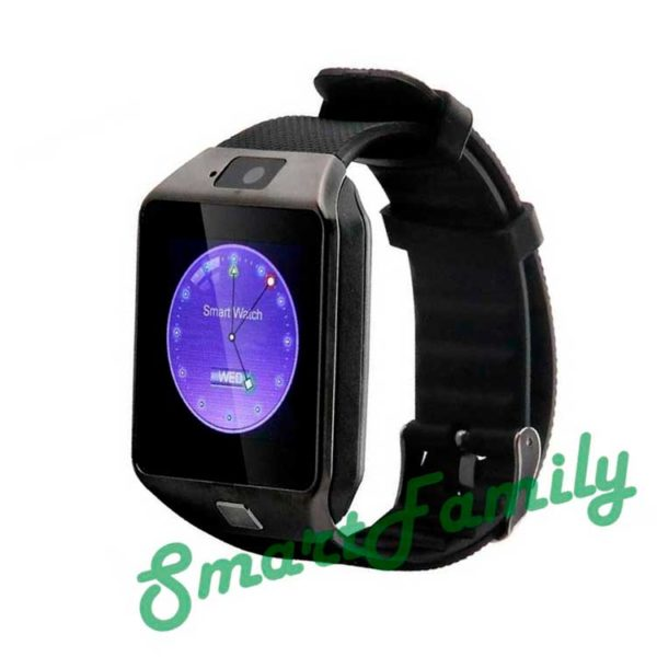smart часы dz09 черные
