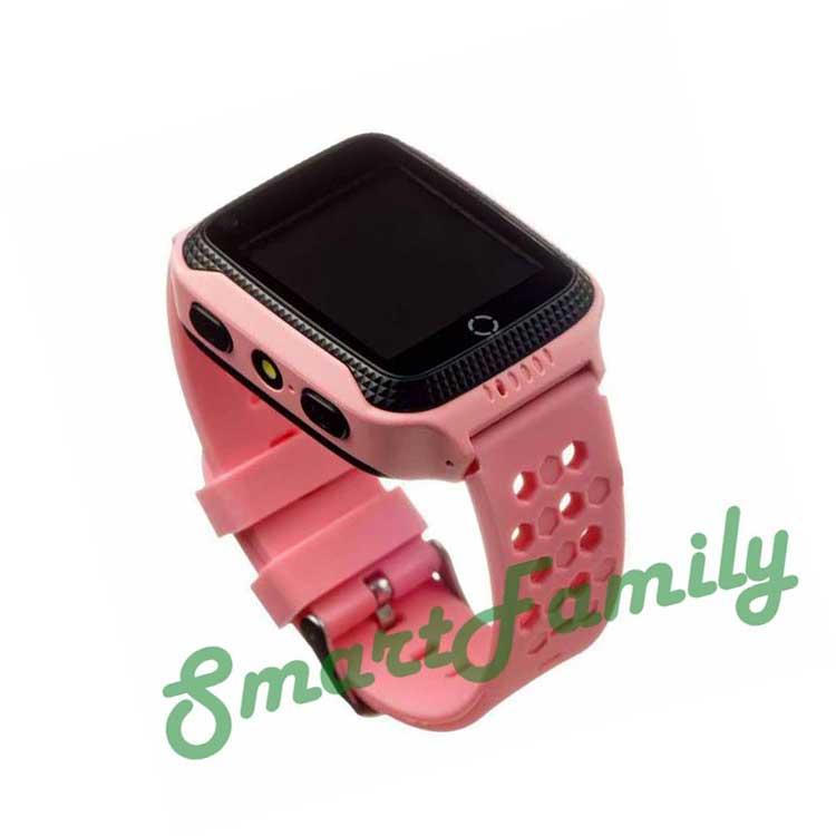 часы g100 розовые