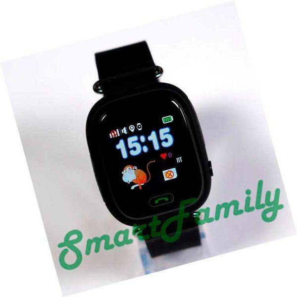 умные часы q90 черные