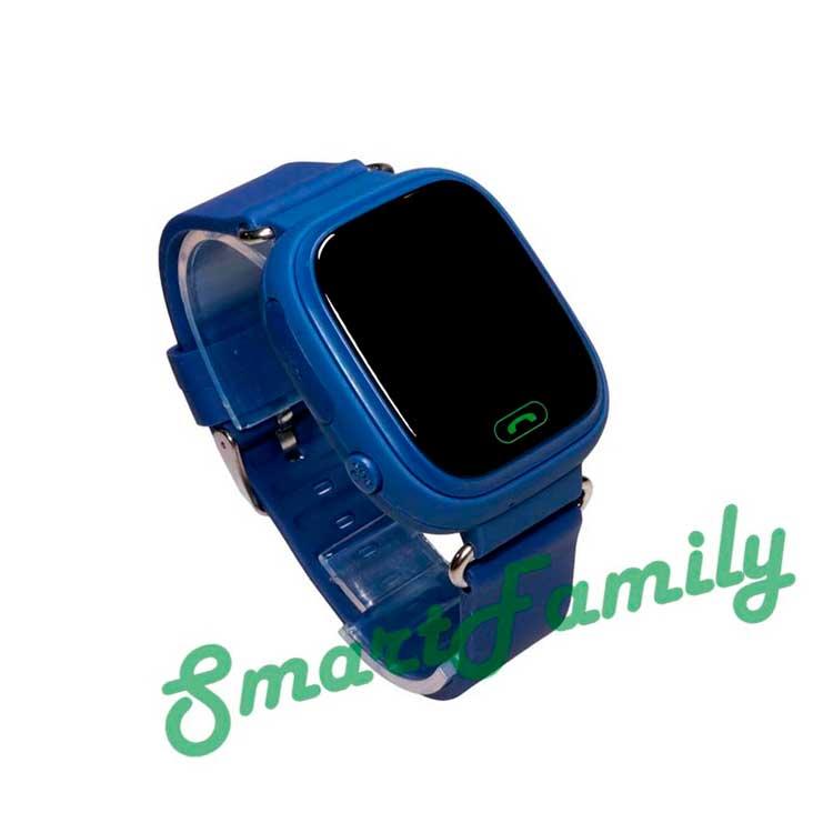 часы gps q90 синие