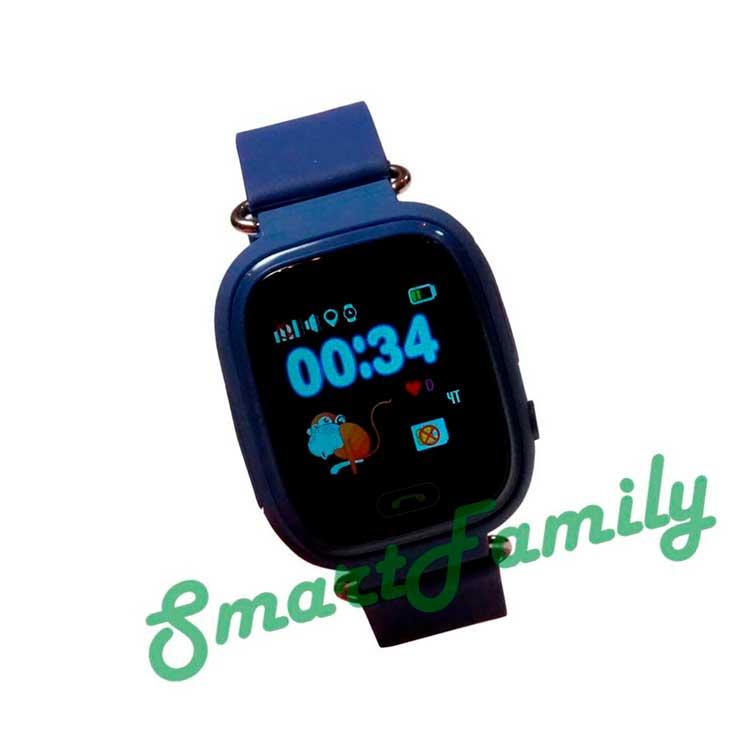 Smart baby watch Q80 синие