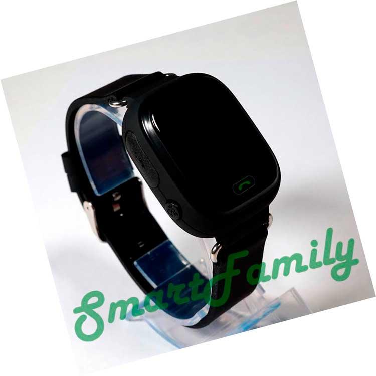 часы smart watch q90 черные