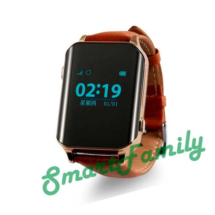 Smart watch D100 коричневые