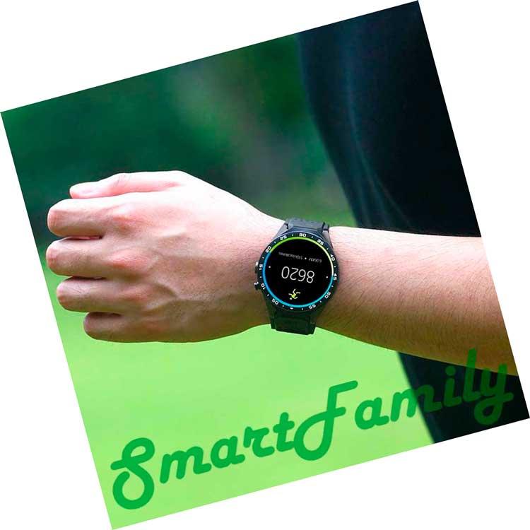часы Kingwear KW88 на руке