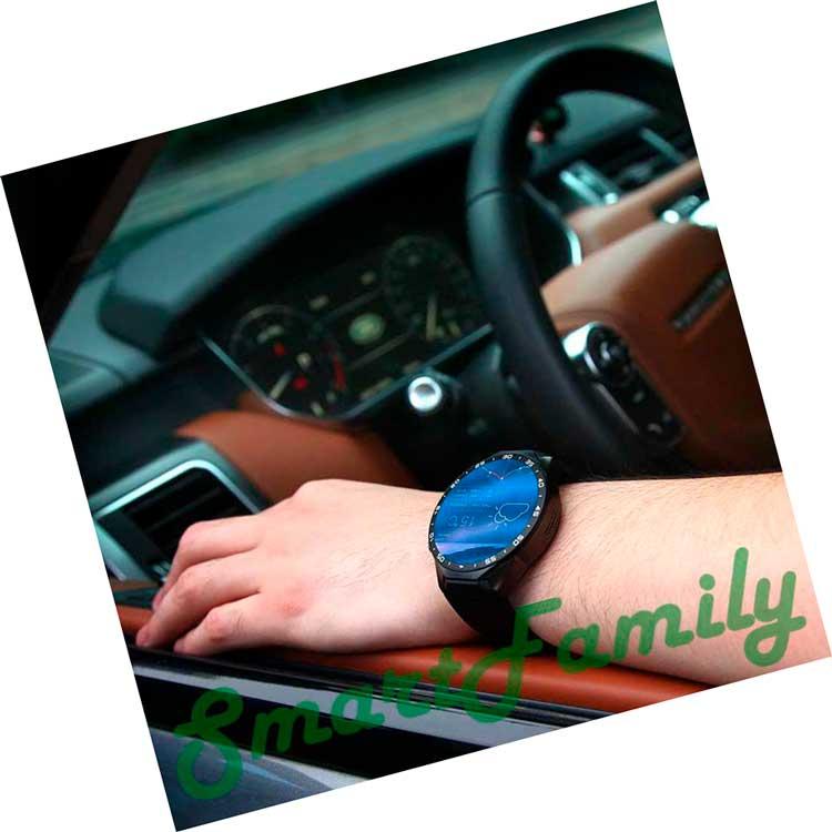 smart watch KW88 на руке