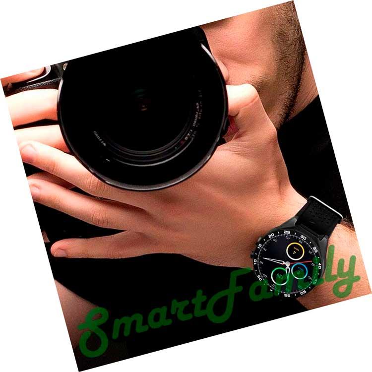 smart watch KW88 фотографу