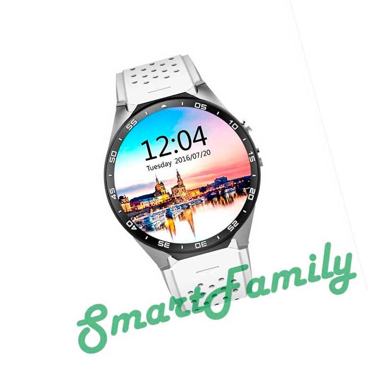 часы Kingwear KW88 белые