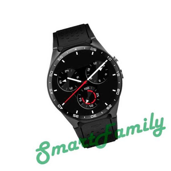 часы Kingwear KW88 черные