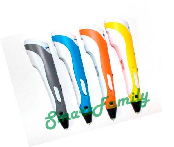 3D ручка MyRiwell RP-100A разные цвета