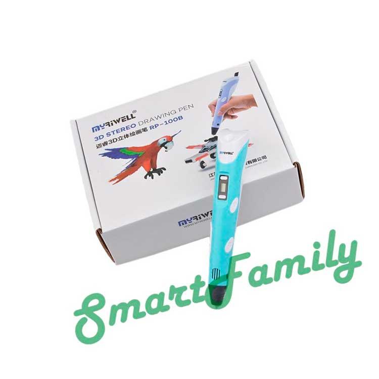 фирменная коробка 3D ручка MyRiwell RP-100B