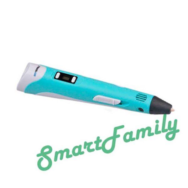 3D ручка MyRiwell голубая
