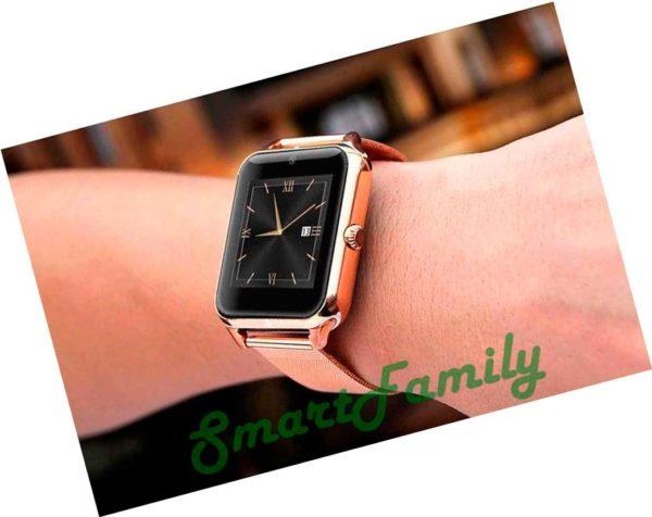 умные часы Z60 на руке