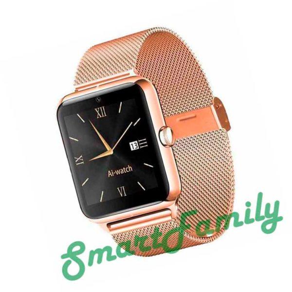 Smart watch Z50 золотые