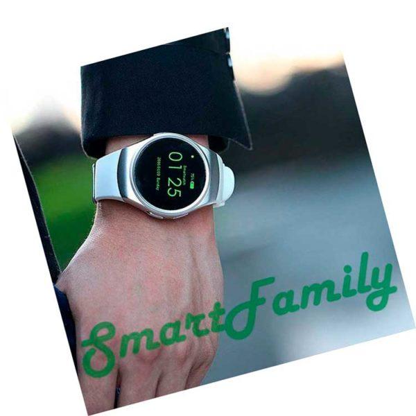 smartwatch kw18 на руке