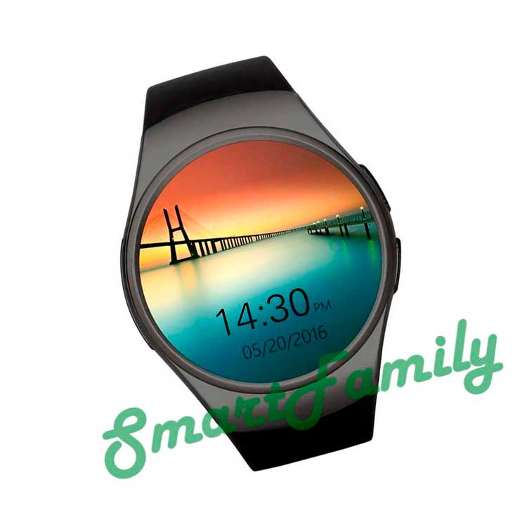 картинка часы Kingwear KW18 черные