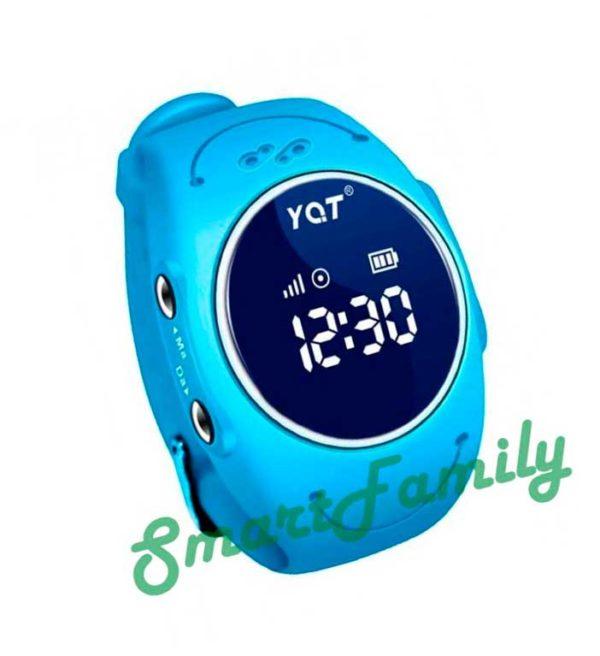 GPS часы для детей W8 голубые