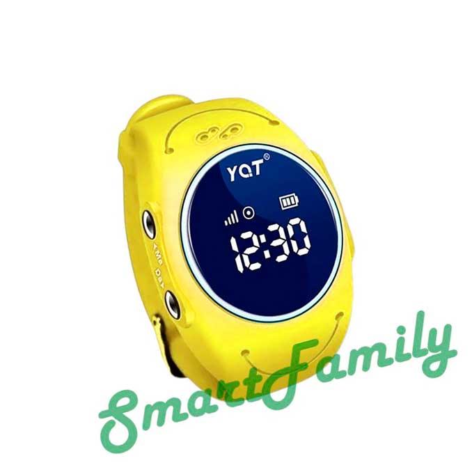 GPS часы для детей W8 желтые