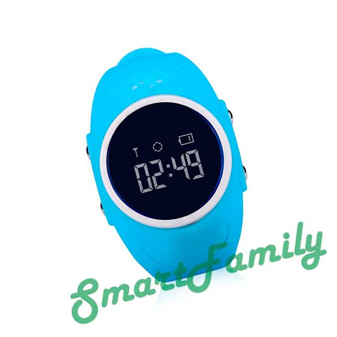 Smart baby watch GW300s голубые фронт