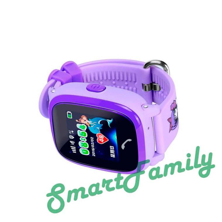 водонепроницаемые-детские-часы-с-GPS-сиреневые
