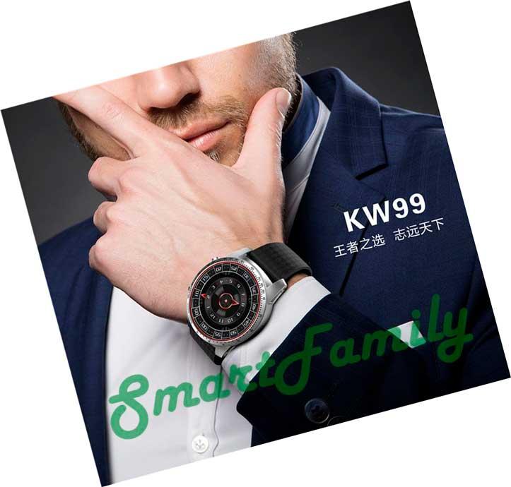 kingwear KW99 на руке