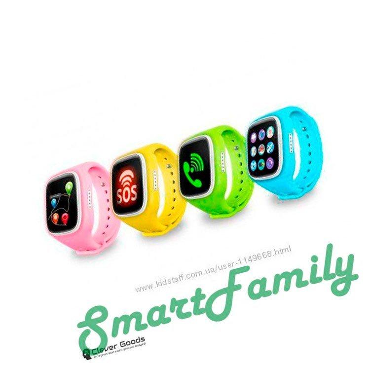 варианты цветов smart baby watch A6