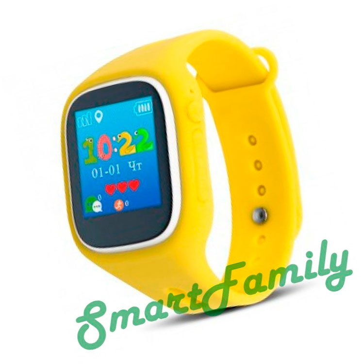 желтые smart baby watch A6